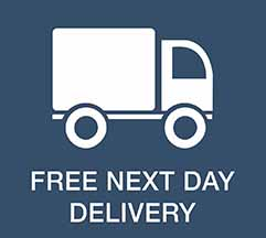If you place an order by 3PM, and the product is in stock – we will ship it the same day, for delivery the next day. This can be direct to your store, or direct to your customer.