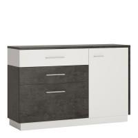 Zingaro 1 door 2 drawer 1 compartment sideboard