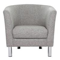Cleveland Armchair in Nova Light Grey