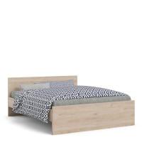 Naia Euro King Bed (160x200) Jackson Hickory Oak structure