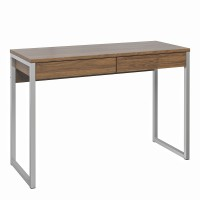 Function Plus Desk 2 Drawers in Walnut FSC Mix 70 % NC-COC-060652