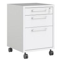 Prima Mobile file cabinet in White