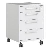 Prima Mobile cabinet in White