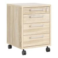 Prima Mobile cabinet in Oak