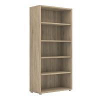Prima Bookcase 4 Shelves in Oak