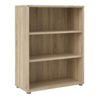 Prima Bookcase 2 Shelves in Oak