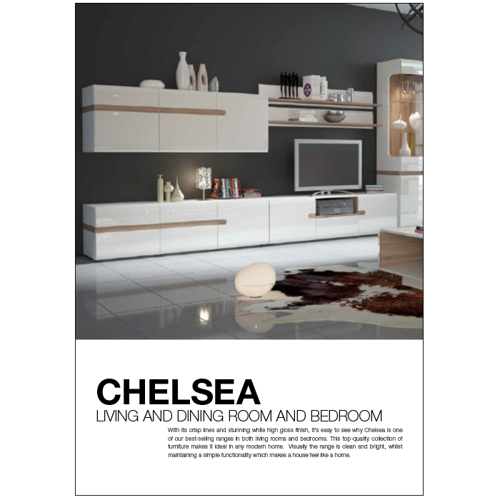 Chelsea Living, Dining and Bedroom 10pp