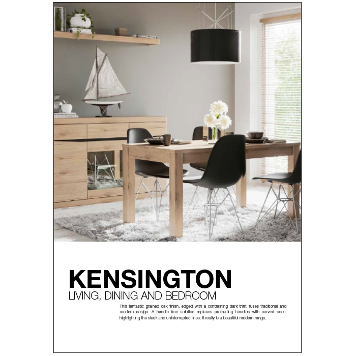 Kensington Living, dining and bedroom