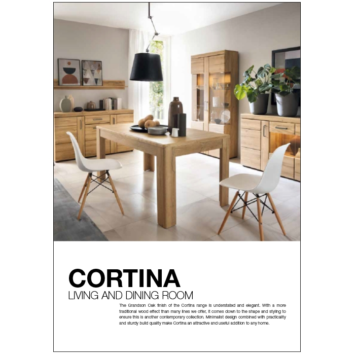 Cortina Living and Dining 4oo