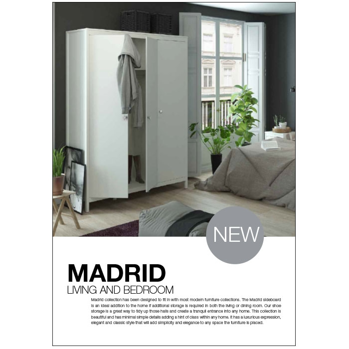 Madrid Living and Bedroom
