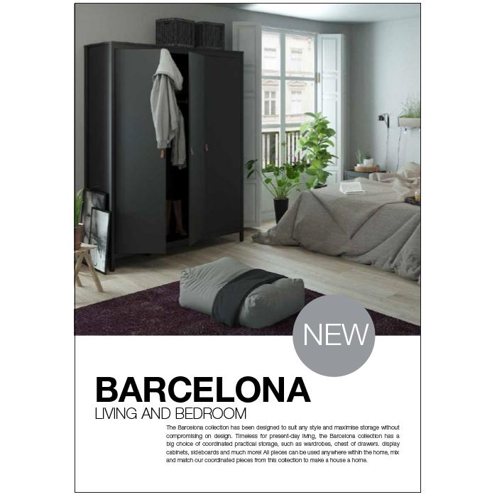 Barcelona Living and Bedroom
